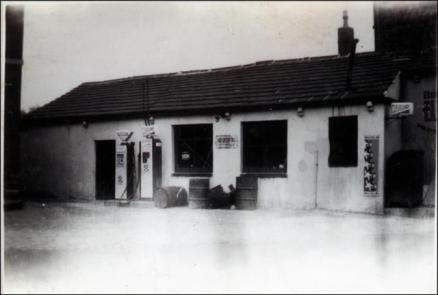 The Smithy building next to the Prospect Hotel