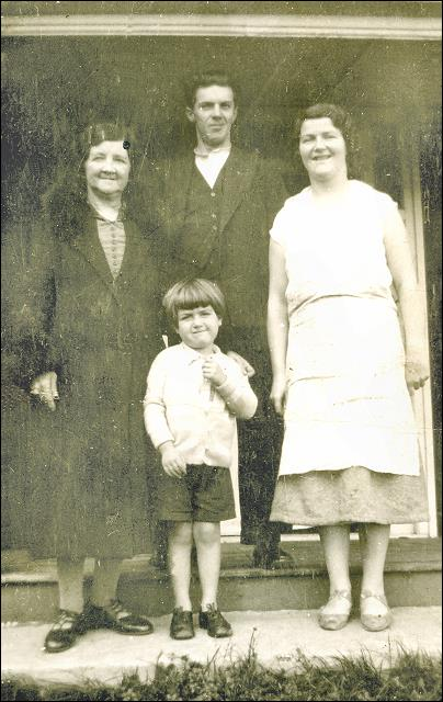 Family Portrait with Mary Ann Clough