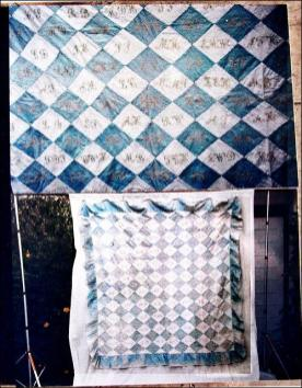 Quilting done by members of Zion Chapel, Morley