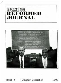 Extract from British Reformed Journal