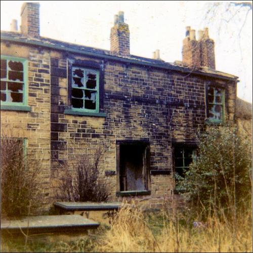 Daffil House, Churwell prior to demolition, 1966