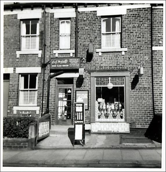 The Off License Shop in Street Lane, Gildersome