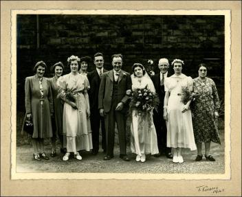 Wedding of George Slingsby and Kathleen Iremonger