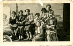 Park Mill workers on mill trip in Blackpool