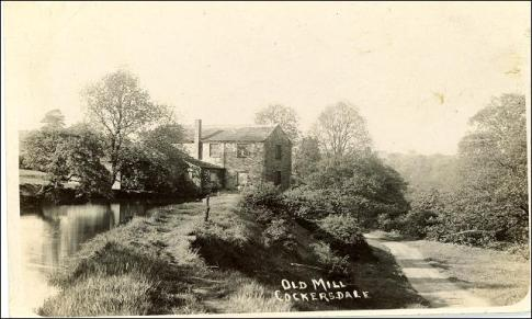 The old mill at Cockersdale