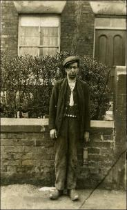 Alfred Suddick in Miner's clothes