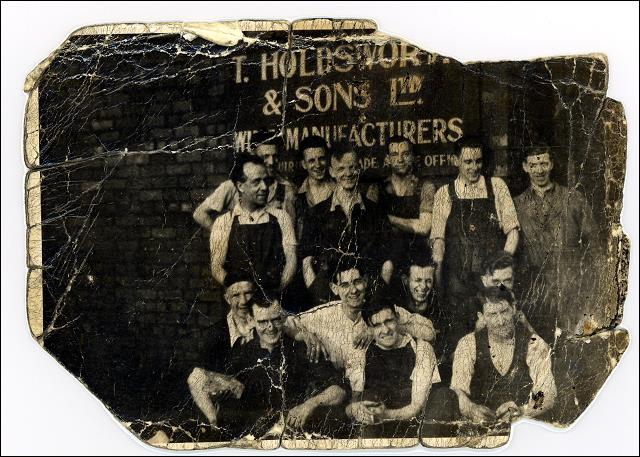 Employees at Holdsworth's Wire Works
