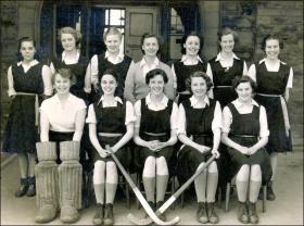 Morley Grammar School First XI Hockey team