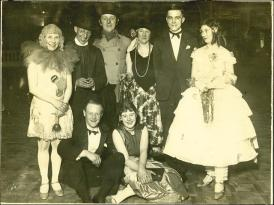 Group of Players, all dressed up