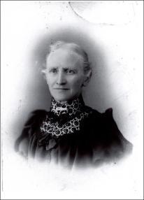 Studio photograph of Martha Butterworth nee Bentley