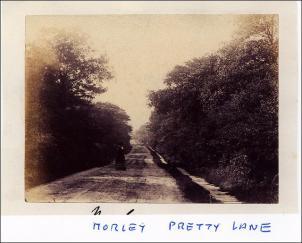Annie Watson walking in Pretty Lane