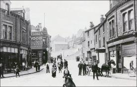 A view of Brunswick Street from Morley Bottoms