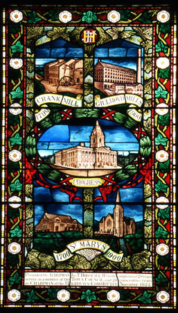 Window presented by Ald. James T. Horsfall