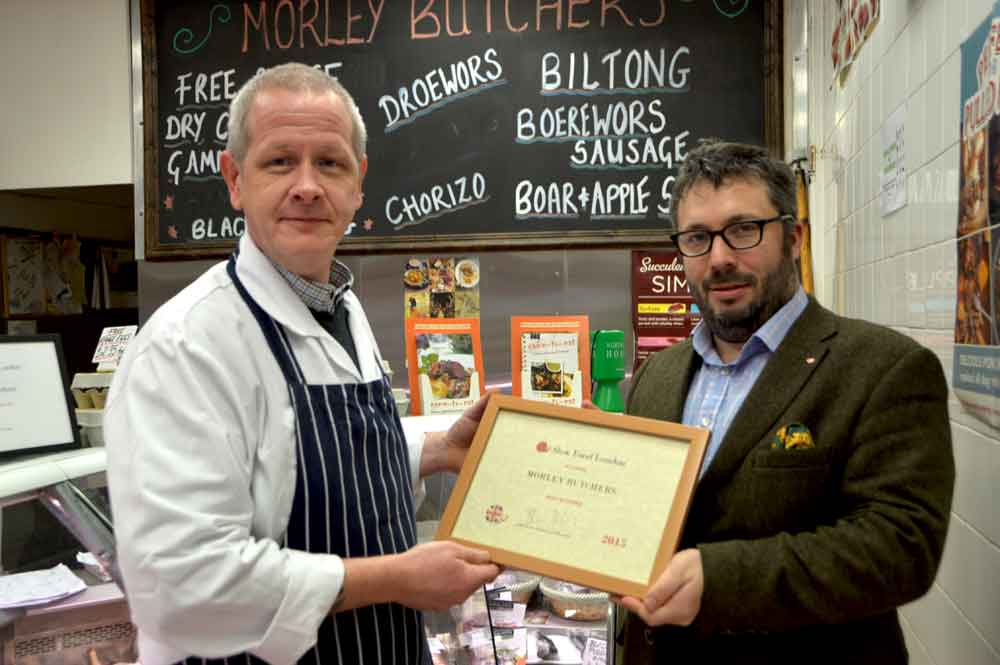 Slow Food Award Winner 2015 - Best Butcher in London