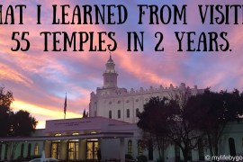 In the 2 years since I've gotten back from my mission, I've traveled the country, visiting Temples. Here is what I learned from visiting 55 Temples.