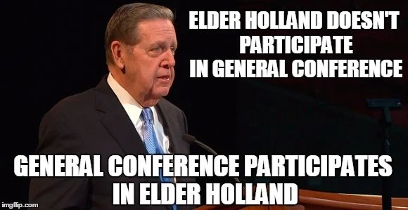 Chuck Norris Elder Holland