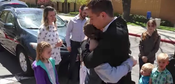 saying goodbye to a missionary mtc