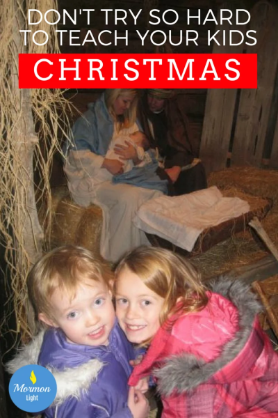 MEANING OF CHRISTMAS teaching Christmas
