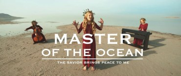 master of the ocean the savior gives peace to me