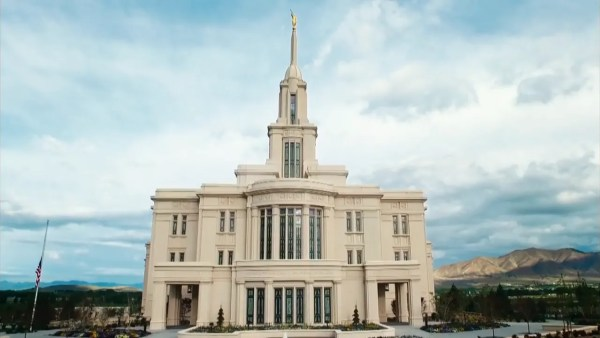 what mormons believe temple