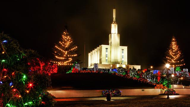 Lds Wallpaper Hd Public Invited To View 200 000 Christmas Lights In Temple