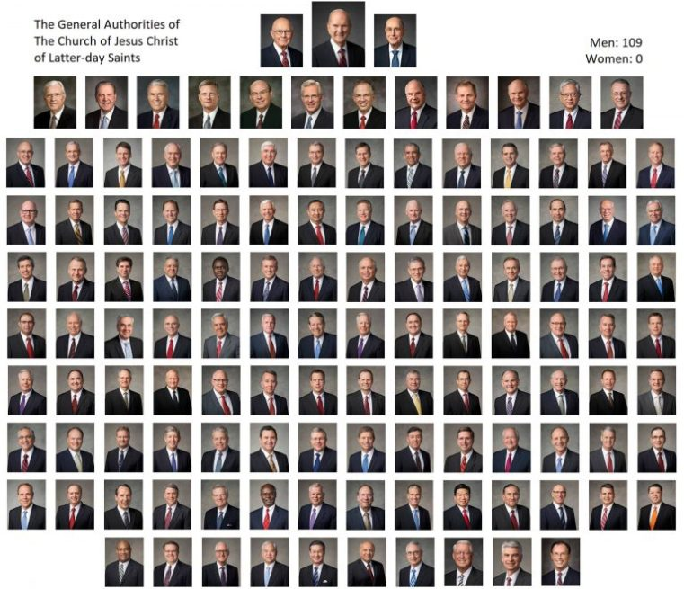 Image result for all of Mormonism's general authorities
