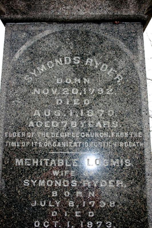 Symonds Ryder