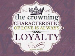 Loyalty Love