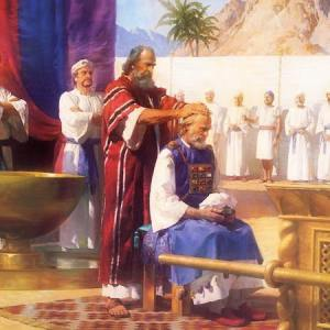 Moses Ordains Aaron_Tabernacle