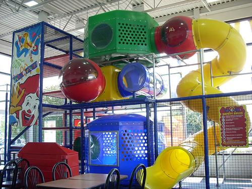 Image result for big tube slide at mcdonalds playground