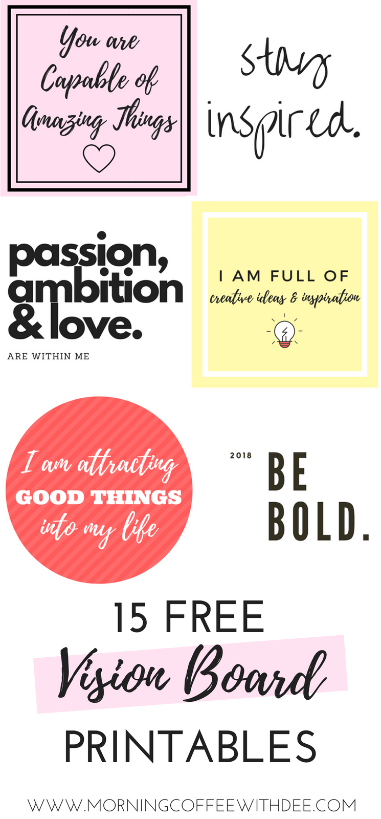 How to Create a Vision Board With Intention & Purpose + FREE Workbook