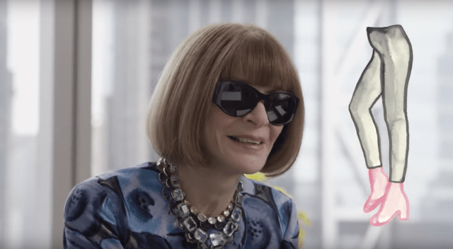 What to wear to a job interview? Anna Wintour has the answer.