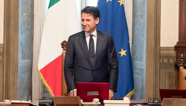 Italian PM Conte's  responsible company