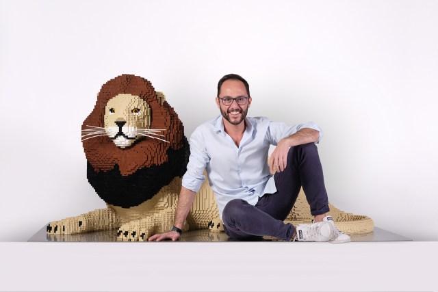 """Riccardo Zangelmi: """"I put together LEGOs for a living"""""""