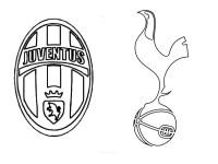 Disegno da colorare UEFA Champions League 2018 : Juventus ...