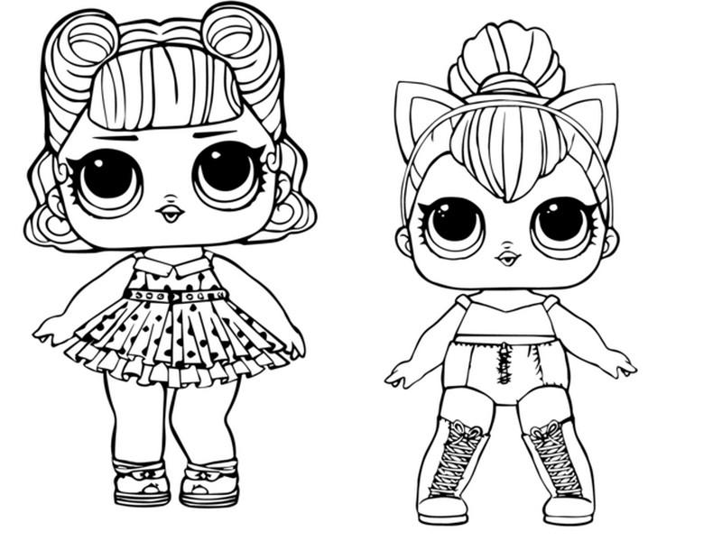 Lol Surprise Unicornio Dibujo Para Colorear