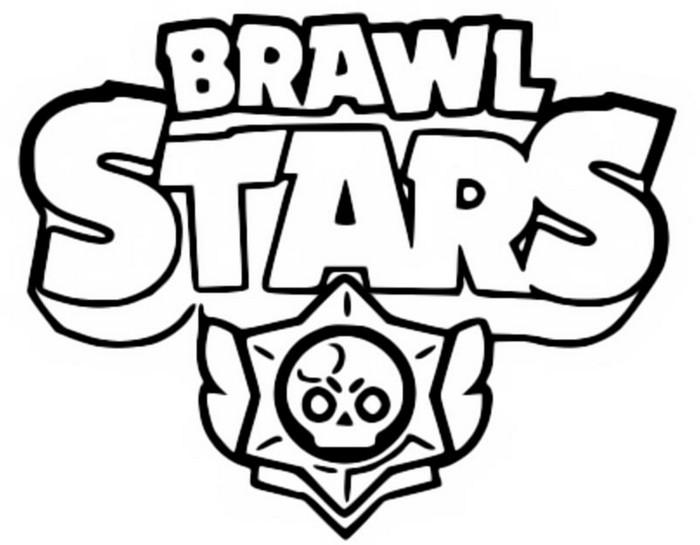 Dibujo para colorear Brawl Stars 2