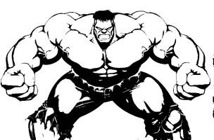 Malvorlagen Hulk 12