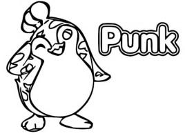 Malvorlagen Badanamu  Punk 9