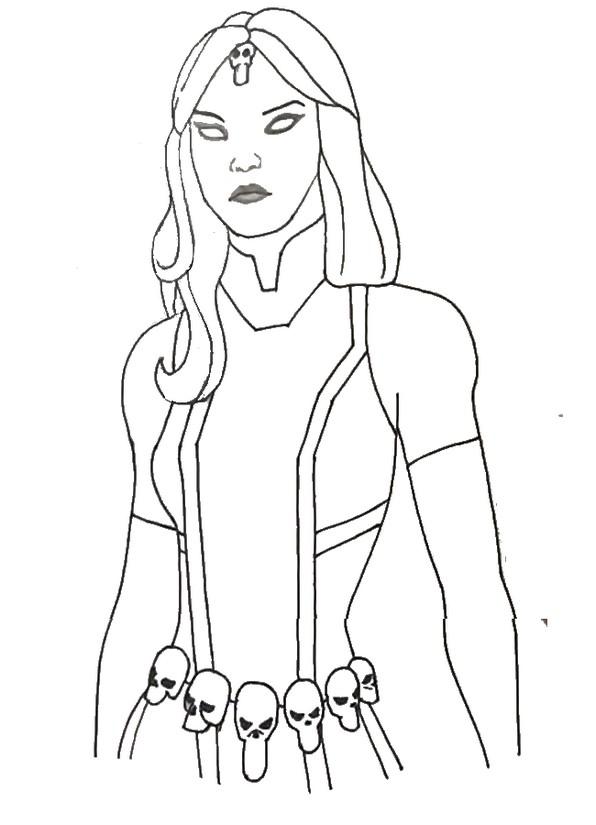 Malvorlagen Fortnite - Marvel  Mystique 9