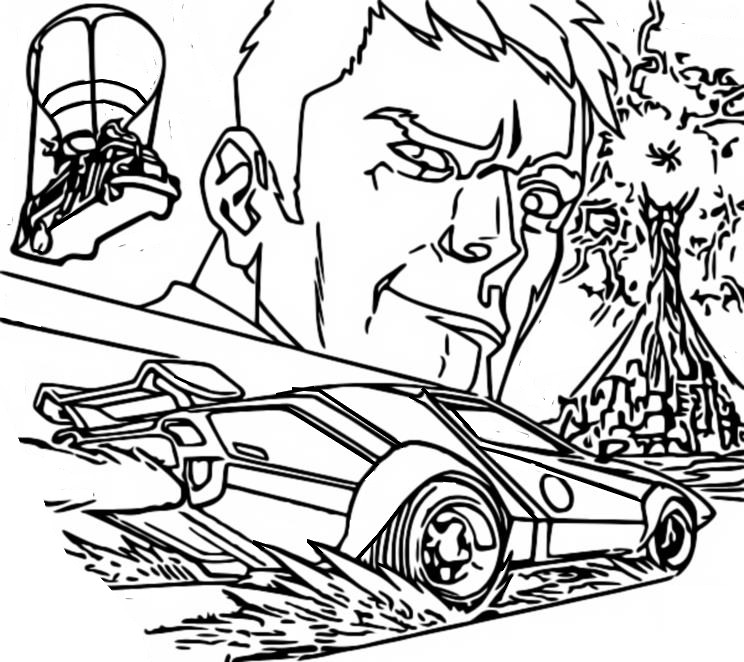 Malvorlagen Fortnite Kapitel 2 Season 6  Agent Jones