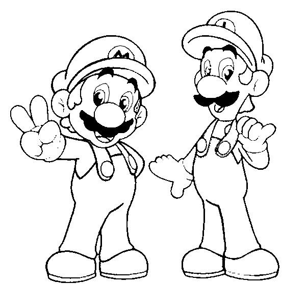 Malvorlagen Super Mario 9