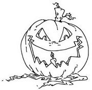 Malvorlagen Halloween - Morning Kids