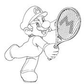 Disegni da colorare Tennis Disegno