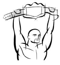 Dibujo para colorear Lucha libre 1