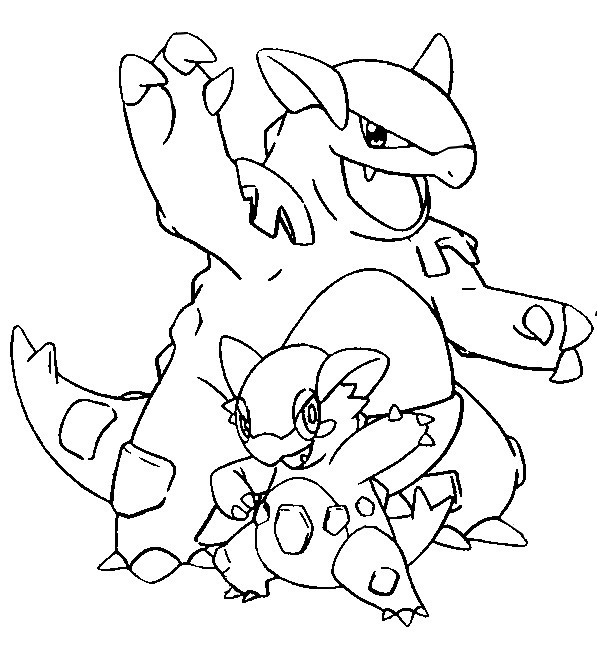 Free mega kyogre coloring pages