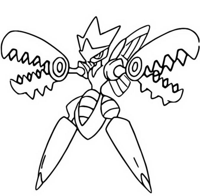 Kleurplaat Pokemon Mega Charizard Ex • Kidkleurplaat.nl
