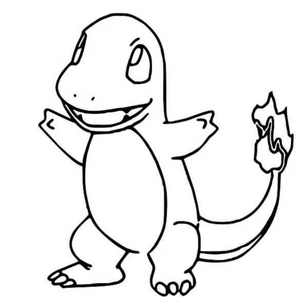 coloring pages pokemon  charmander  drawings pokemon