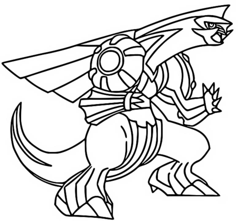 Disegni Da Colorare Pokemon Darkrai