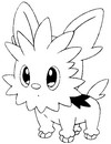 Coloring Pages Pokemon Drawing 501-520